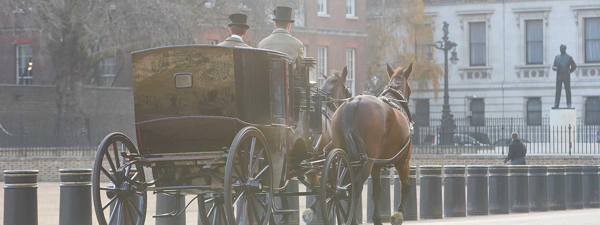 Concierge services, horse and carriage