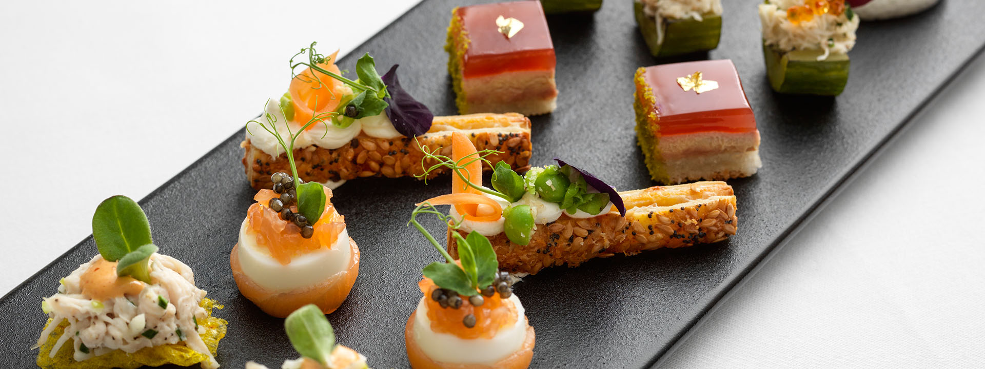 Food canapes