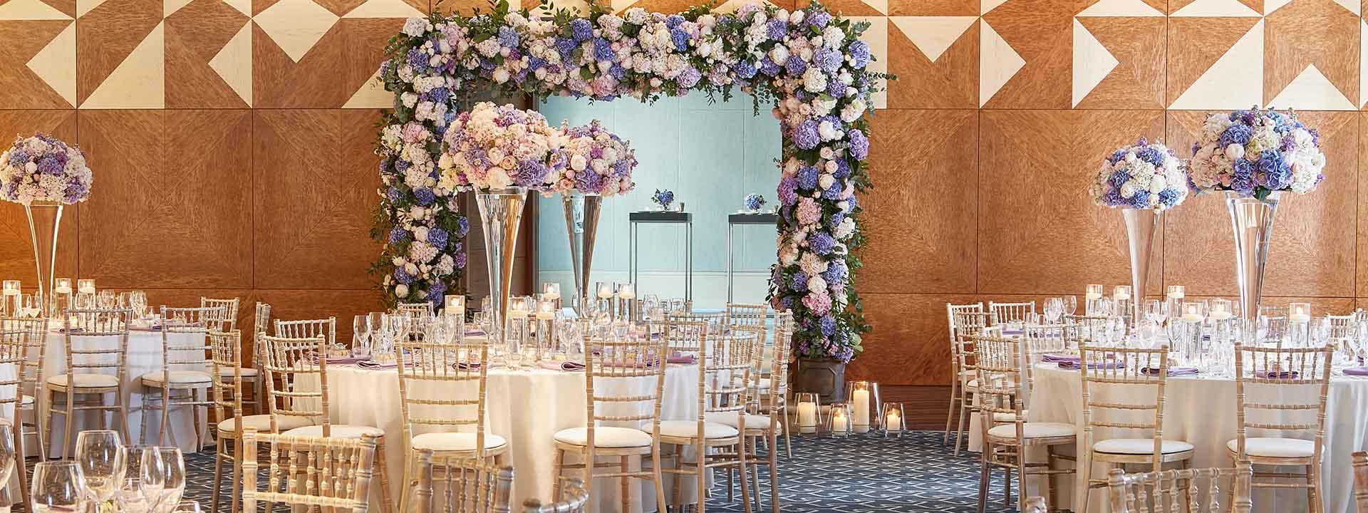 Ballroom wedding at The Berkeley