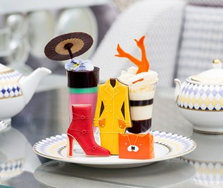 An afternoon tea for fashionistas
