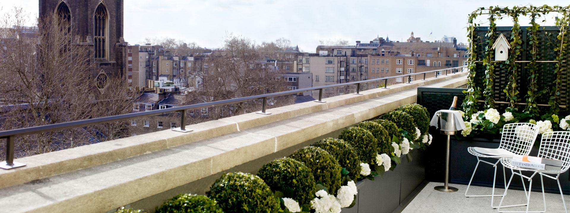 Balcony Junior Suite Terrace