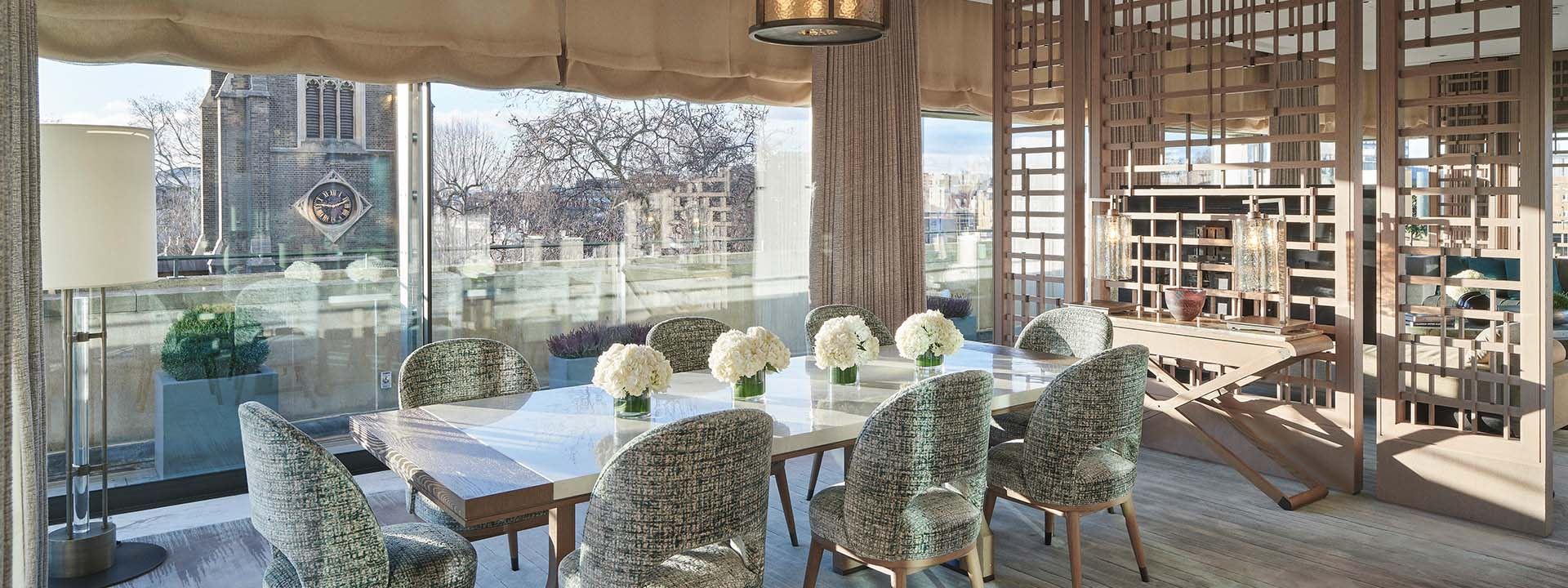 Crescent Pavilion Penthouse Dining Room