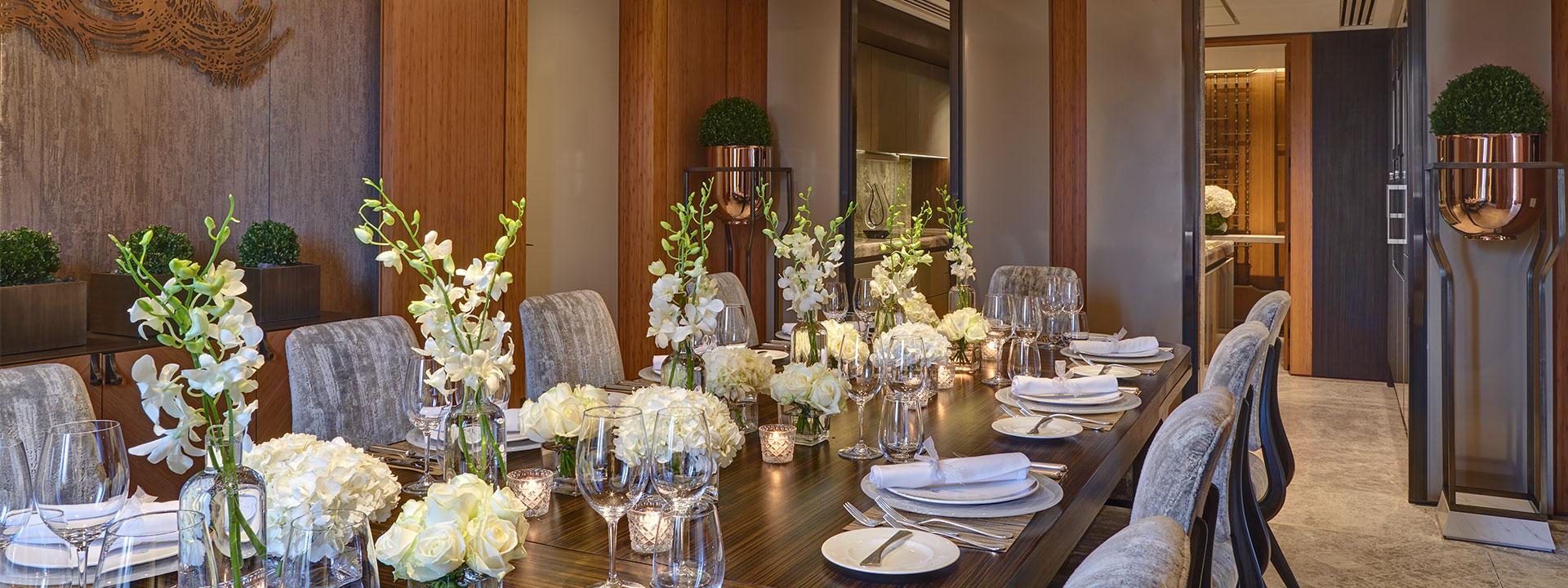 Opus Suite Dining Room