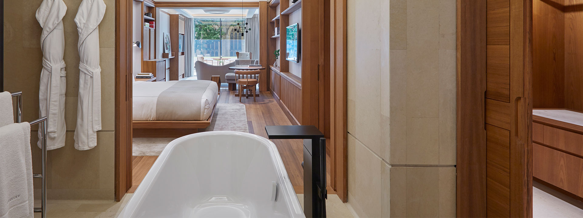 Terrace Junior Suite Bathroom